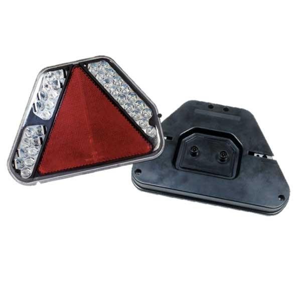 6 Funktions LED Anhänger-Rückleuchte, links, Kennzeichenlicht seitlich,12V, LEDs'inno-1