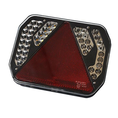 LEDs'inno-2, Multifunktions-Anhänger-Rückleuchte, 7 Funktionen inkl. Kennzeichenleuchte
