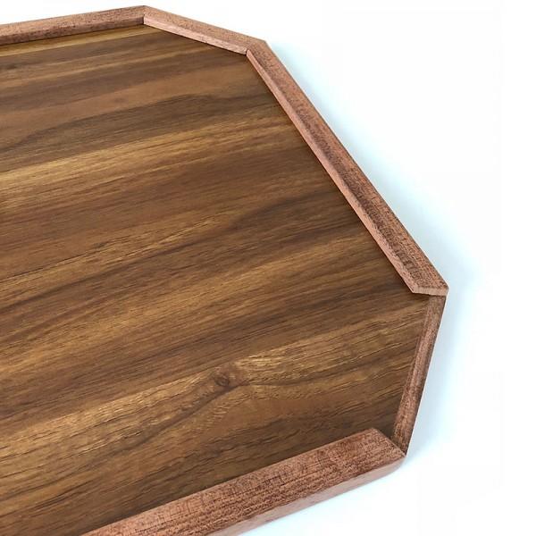 Bootstisch-Platte aus Teakholz Imitat Modell Rimini I outmar.com