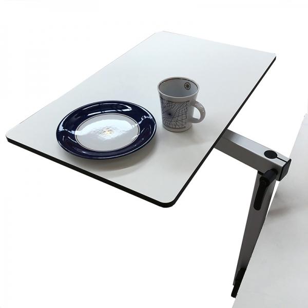 OUTMAR Lagun Tischplatte weiss HPL