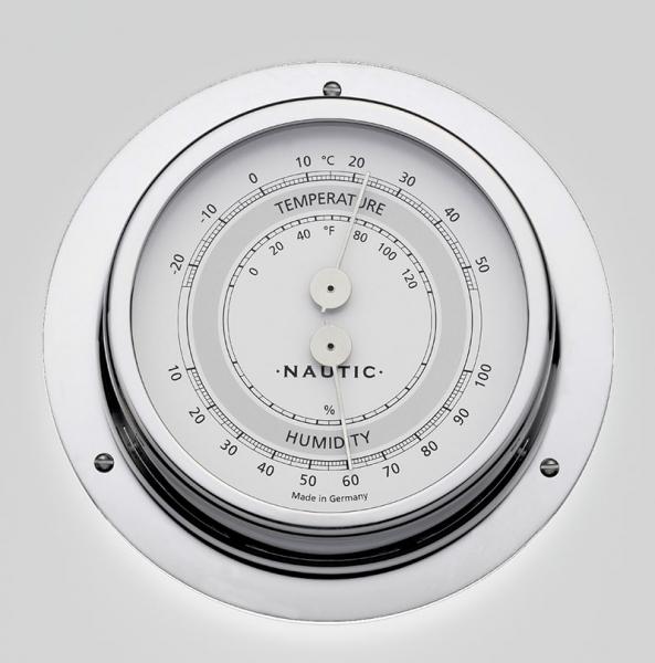 Schiffsthermometer / - hygrometer Messing poliert I outmar.com