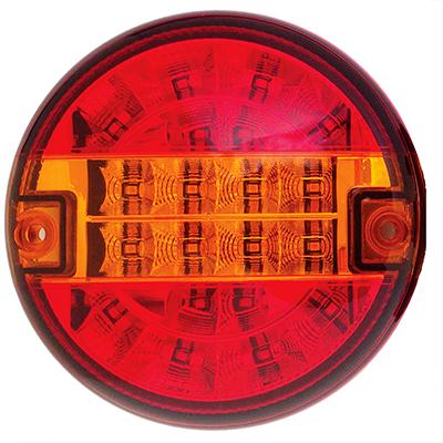 LED Dreikammer-Anhänger-Rückleuchte, LEDs'inno-4, rechts, 3 Funktionen, 10-30V