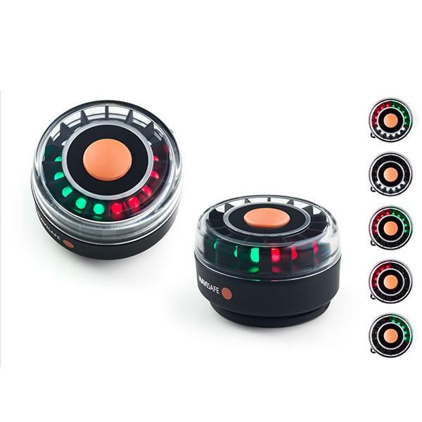 LED Navilight Tricolor 2 NM Dreifarbenleuchte, Zweifarbenleuchte, Heckleuchte, Magnet-Halterung
