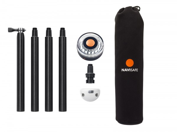 Navigationsleuchten-Set Navisafe Pole & Light basic I outmar.com