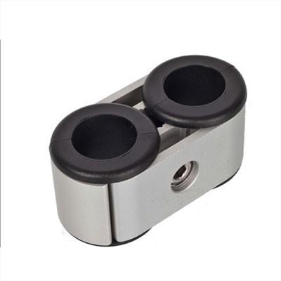 NOA Doppel-Rohrhalter Aluminium I outmar.com