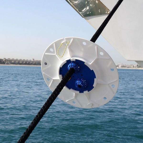 Rattenblech für Festmacherleinen von 10 - 50 mm Durchmesser