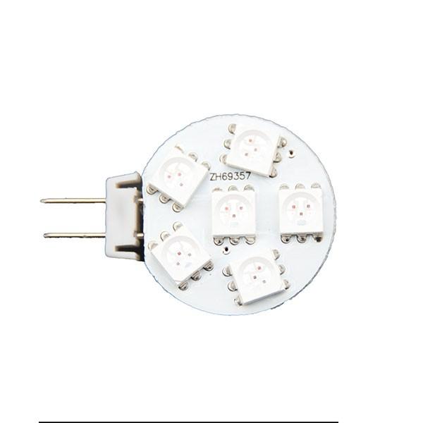 LED Leuchtmittel G4 rot für Nachtlicht auf Schiffen I outmar.com