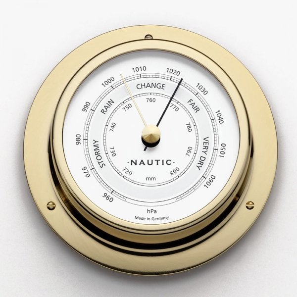 Schiffsbarometer Messing poliert I outmar.com